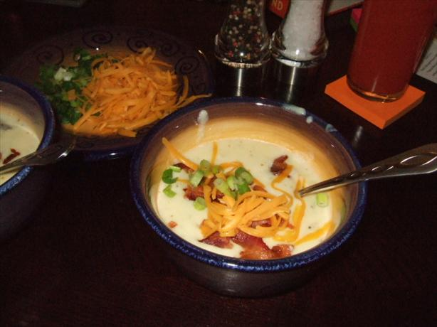 Restaurant Style Baked Potato Soup