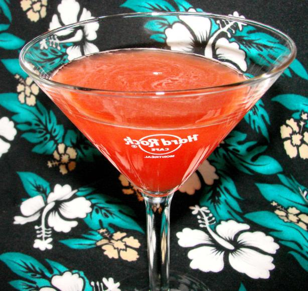 Creamsicle Martini