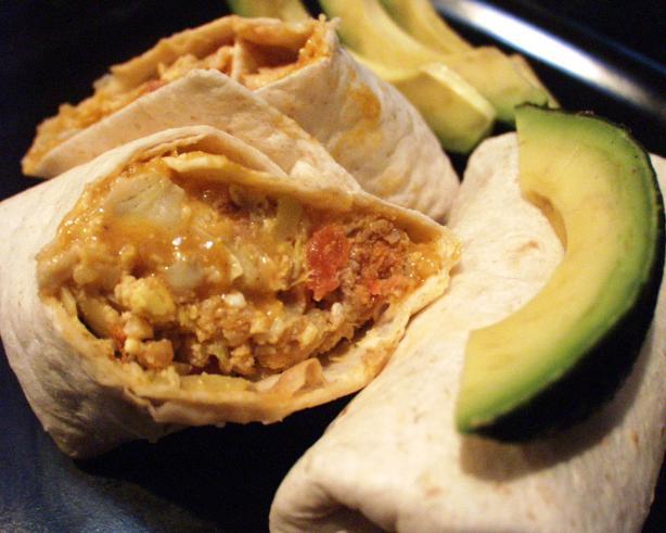 Artichoke Breakfast Burritos