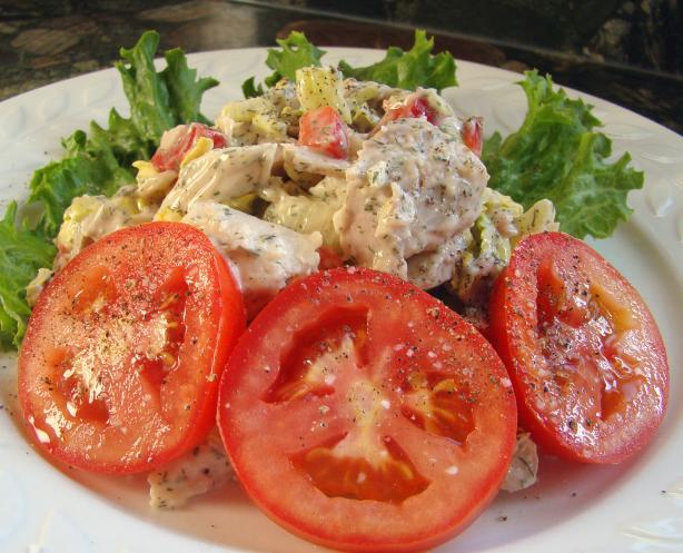 Apple Annie's Tea Room's Chicken Salad