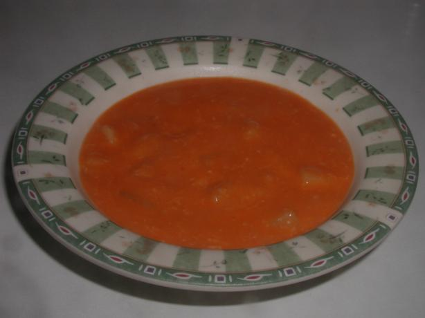 Rosy Potato Soup