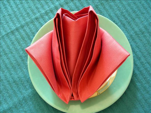 Serviette/Napkin Tulip Version2