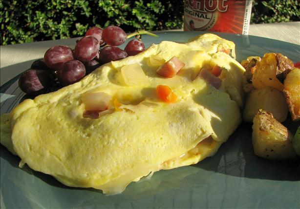 Rajun Cajun Omelette