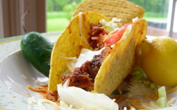 Chicken-Ranch Tacos