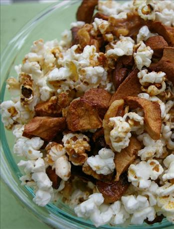 Cinnamon Apple Popcorn