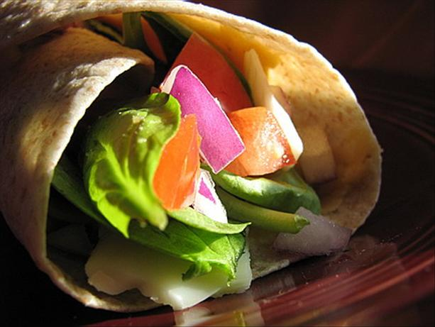 Turkey Wraps With Herbed White Bean Spread