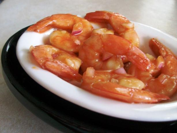 Linda's Marinated Shrimp