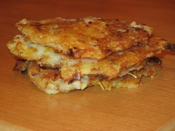 Ecuadorean Potato Cakes (Llapingachos)