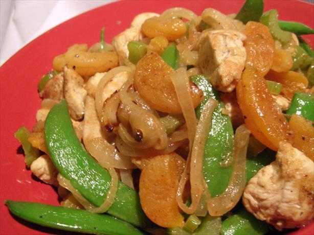 Apricot Chicken Stir-Fry