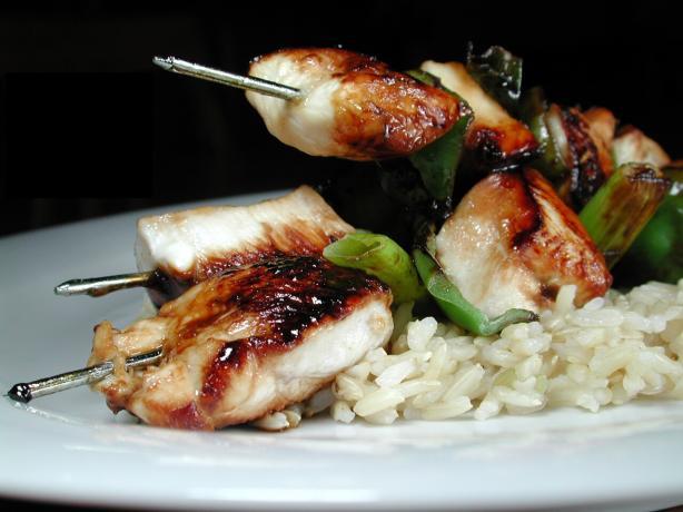 Ww 7 Points - Chicken Yakitori (kebabs)