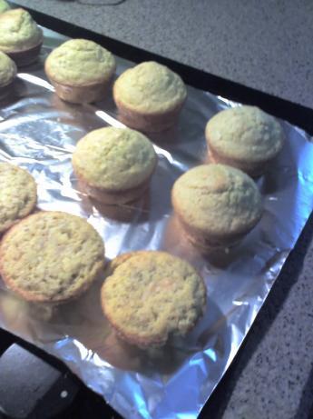Oatmeal Cornbread Muffins
