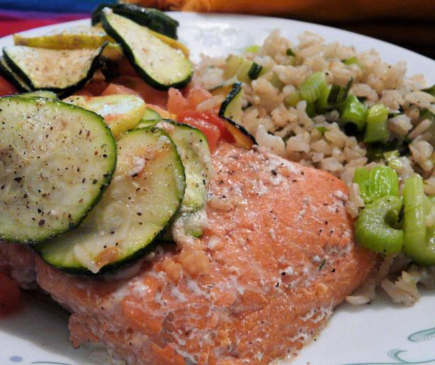 Lemon Tomato Salmon