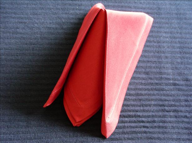 Serviette/Napkin, Elegant Easy With Three Points