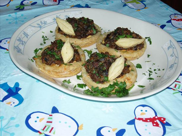 Wild Mushroom and Leek Galettes (Open Faced Pies)