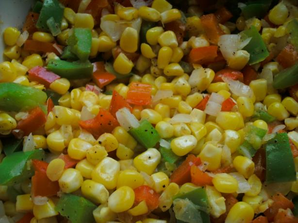 Southwestern Corn and Peppers