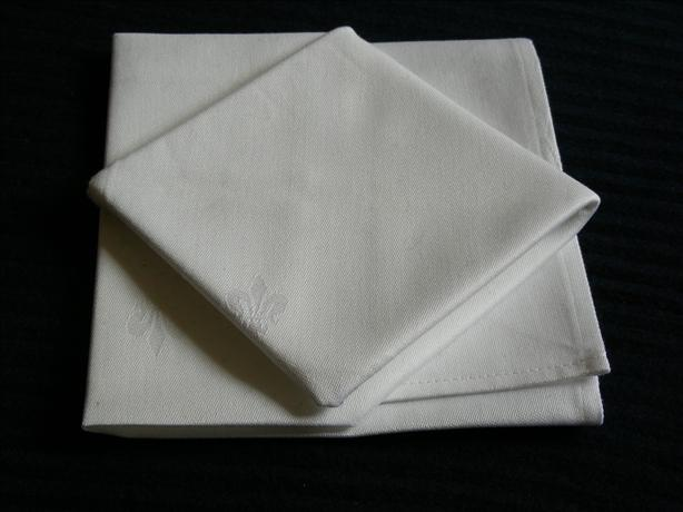 Serviette/Napkin, Diamonds in Squares