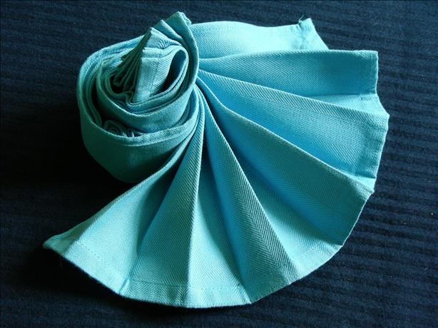 Serviette/Napkin, Dramatic Fan