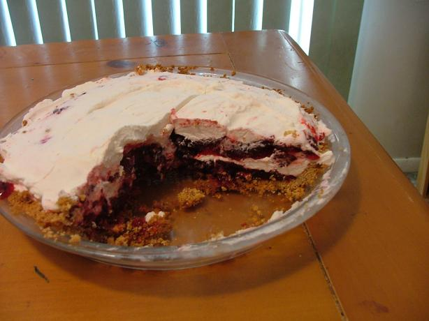 Blackberry Ribbon Pie
