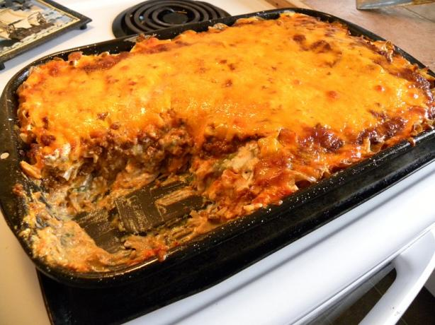 Beef Cheese Casserole