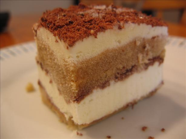 Tiramisu Ice-Cream Cake