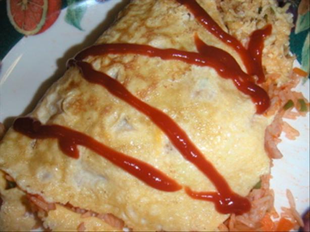 Omu Rice (Japanese Omelette)