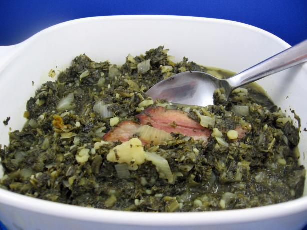 Gruenkohl (Kale) With Pinkel