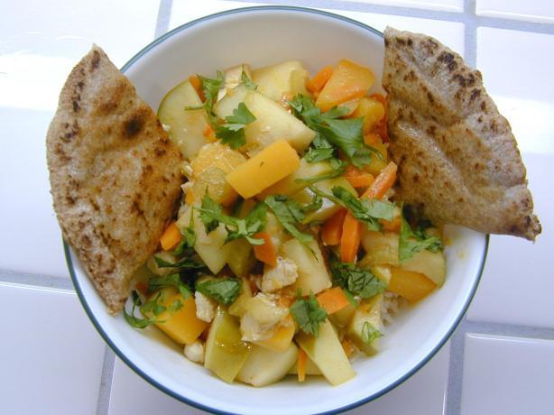 Apple Mulligatawny Soup ( Chicken )