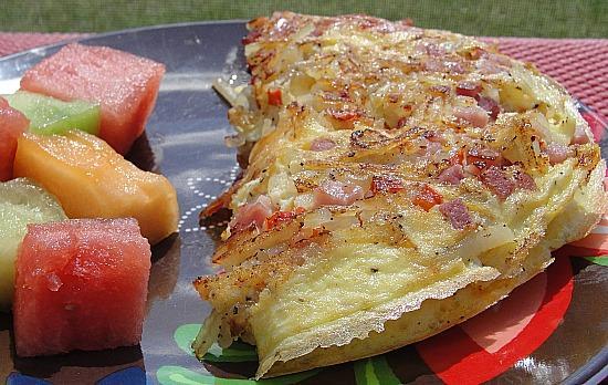 Western Skillet Omelet