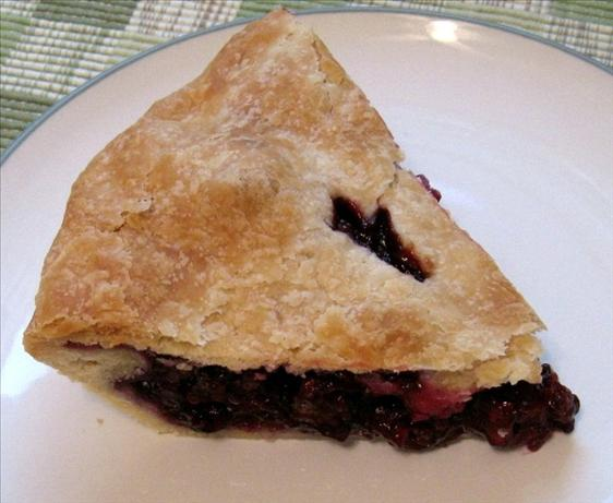 Wild Blackberry or Dewberry Pie