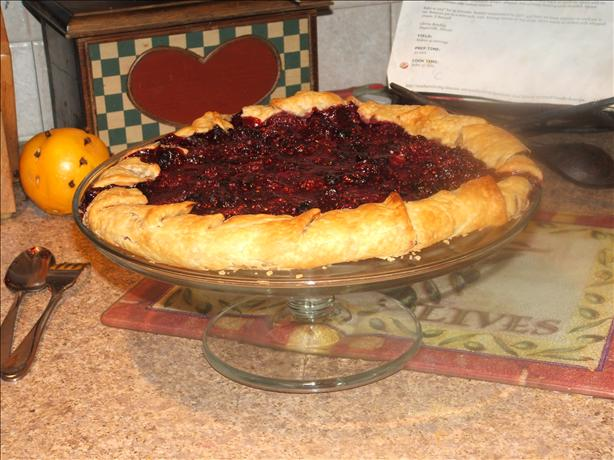 Raspberry and Blackberry Galette