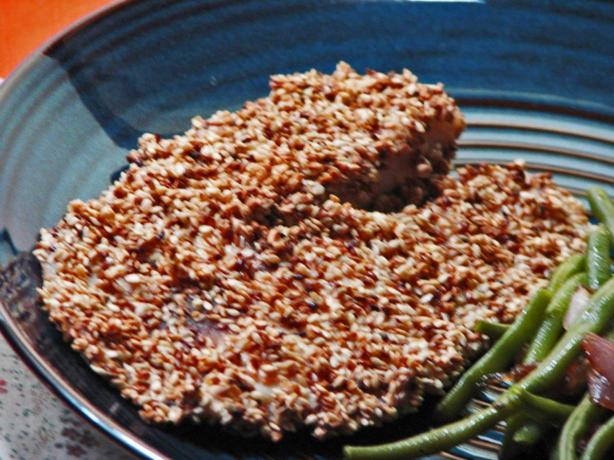 Sesame-Crusted Fish