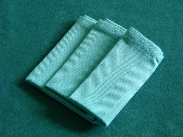 Serviette/Napkin, Three Easy Pleats