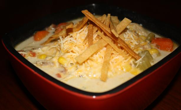 Eat Til You Bust Chicken Tortilla Soup