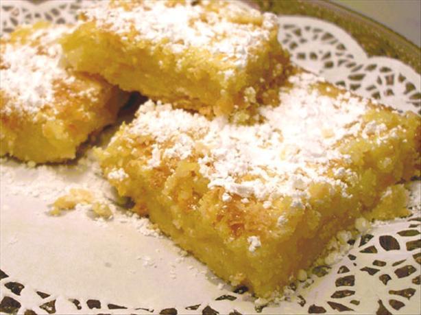 Suzanne's Famous Lemon Squares or Bars