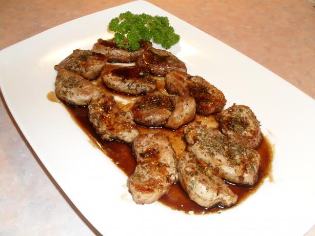 Balsamic Rosemary Pork Cutlets