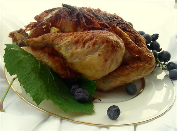 Roasted Chicken With Nutmeg and Orange