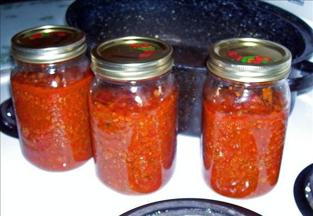 Our Spaghetti Sauce