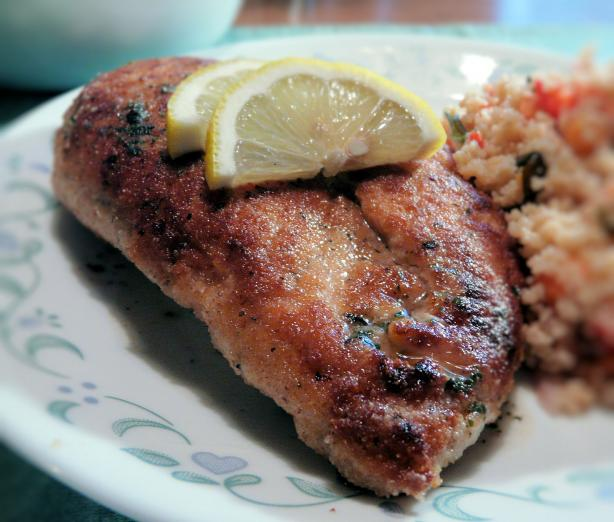 Lower Calorie Chicken Piccata