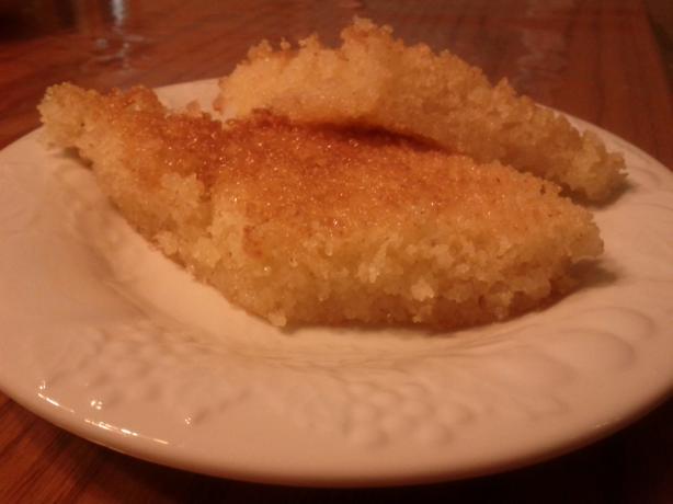 Basboosa - Easy Semolina Cake