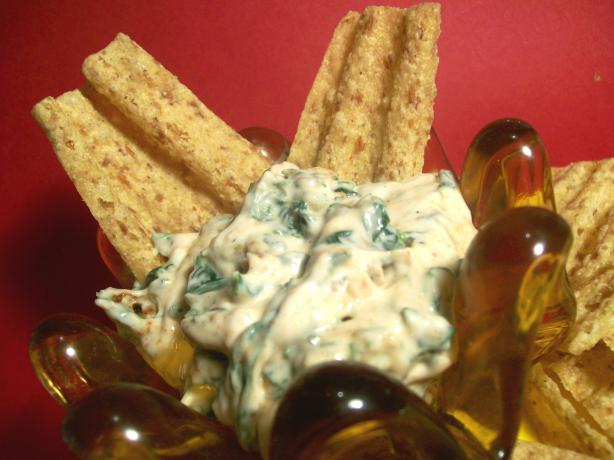 Spinach Pumpernickel Dip