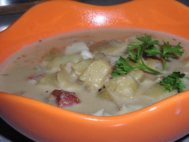 Yummy W. S. Clam Chowder