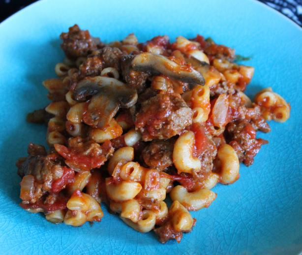 Hearty Macaroni and Beef