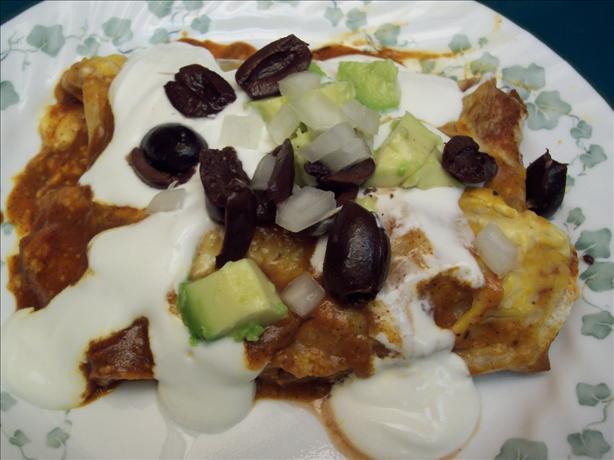Mixed up Enchiladas