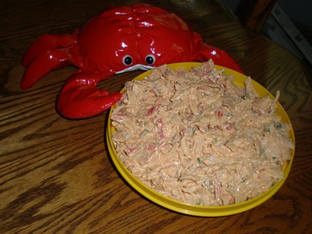 Cajun Crab Spread (Using Imitation Crab)