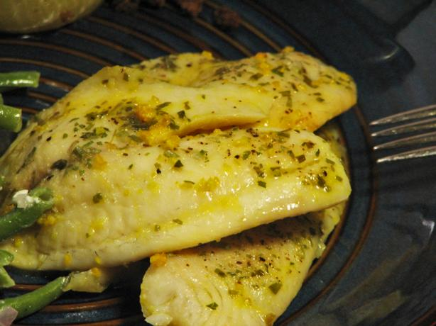 Fragrant Citrus Tilapia