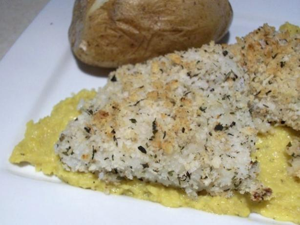 Baked Cod With a Ginger-Corn Sauce