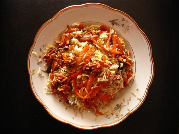 Pelow Shirin - Festive Persian Rice Dish
