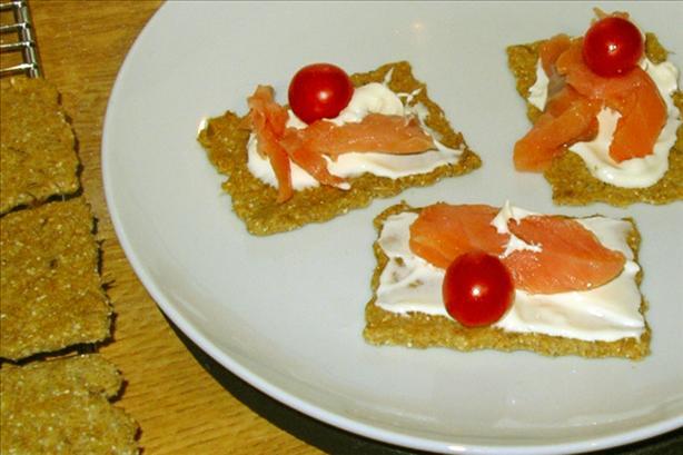 Caraway Rye Crackers