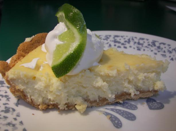 Easy Key Lime Cheesecake