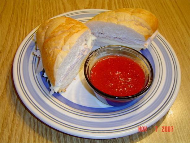 Pilgrim Panini Dip Sandwich